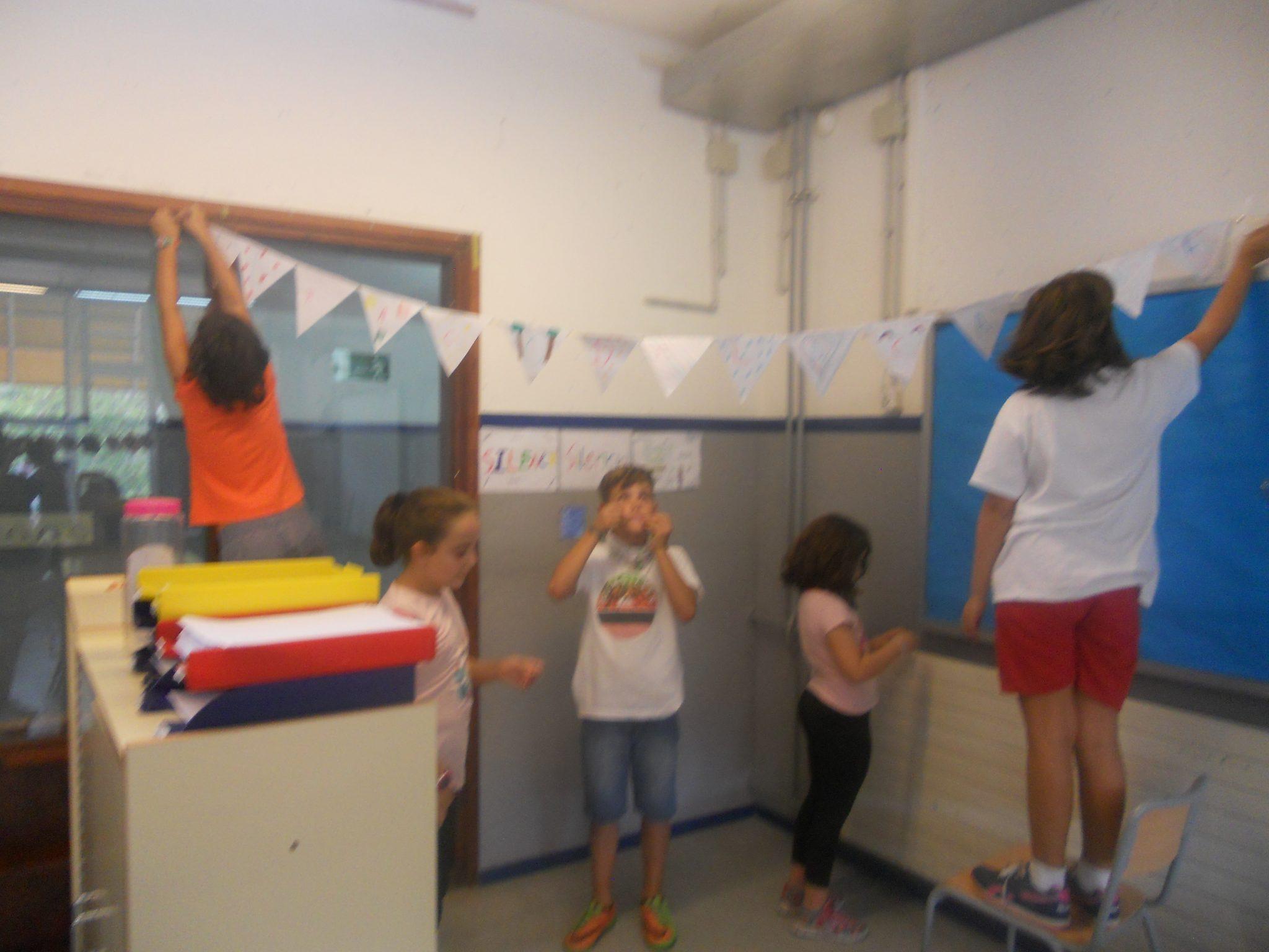 La decoració de la classe de 4tB