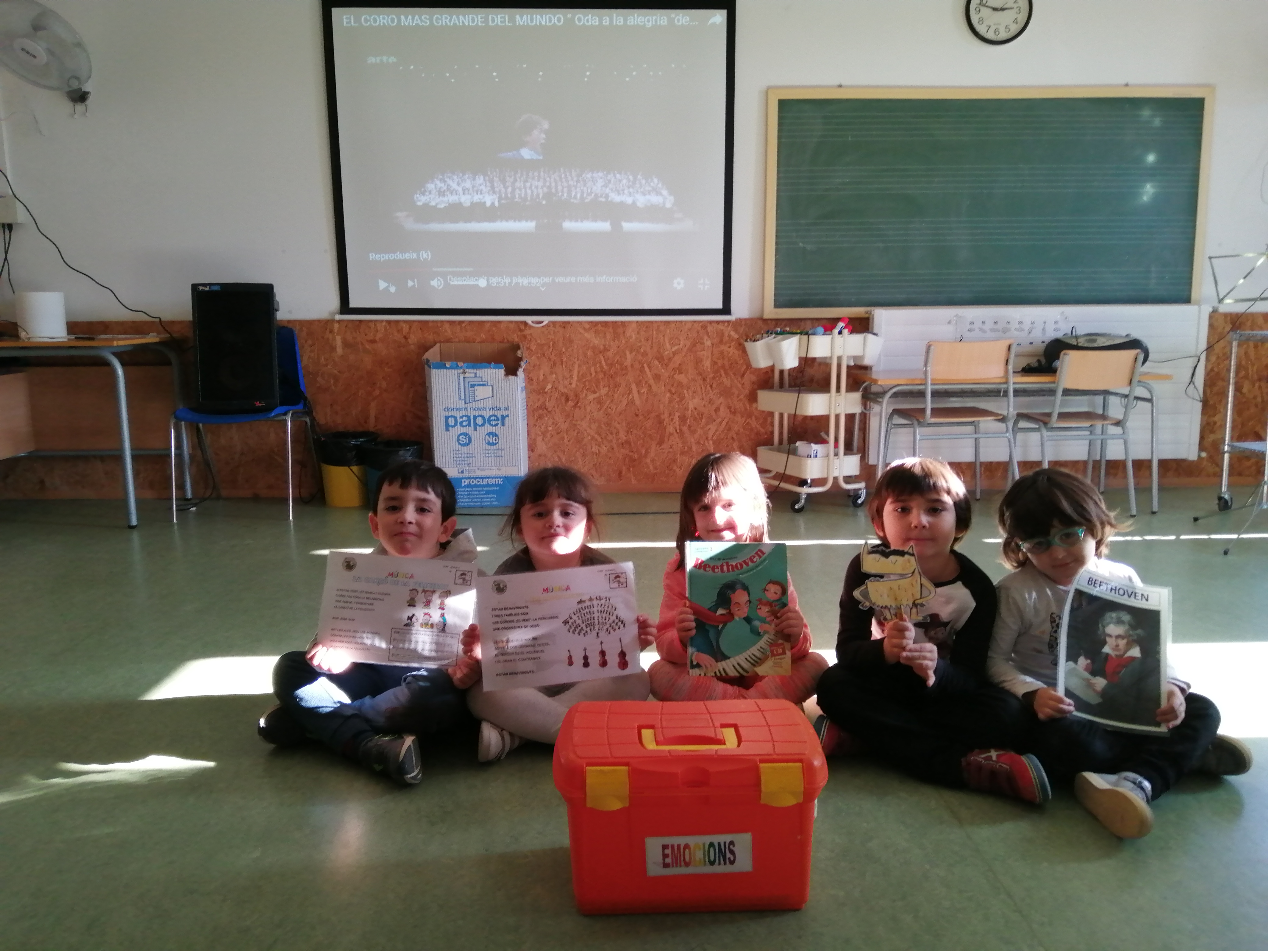 LES EMOCIONS: L'ALEGRIA