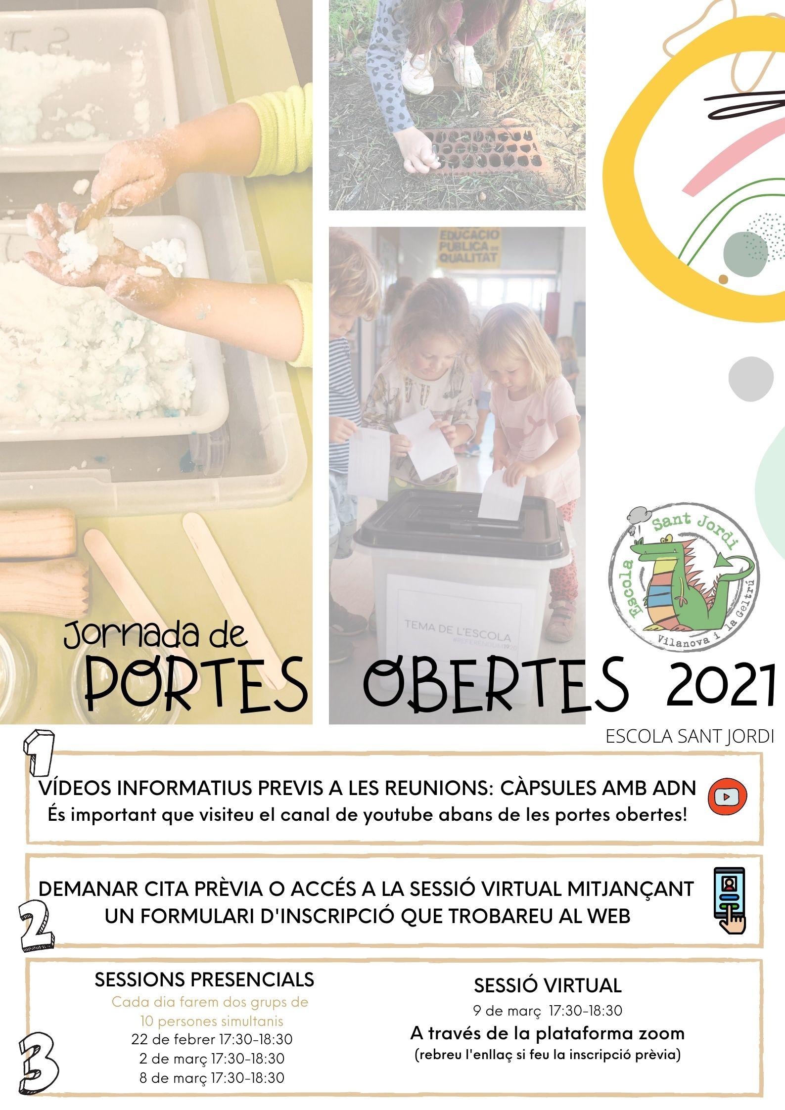 PORTES OBERTES 2021
